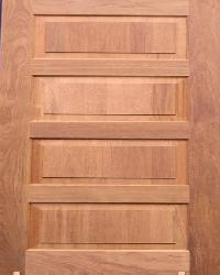 Solid Panel Door 2