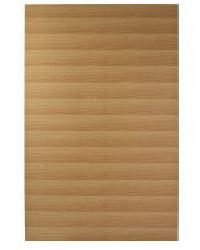 Horizontal veneered door